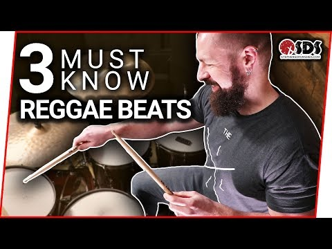 3 Reggae Drum Beats Every Drummer Should Know | Drum Lesson