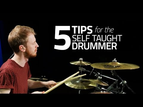 5 Tips For The Self Taught Drummer – Drum Lesson (Drumeo)