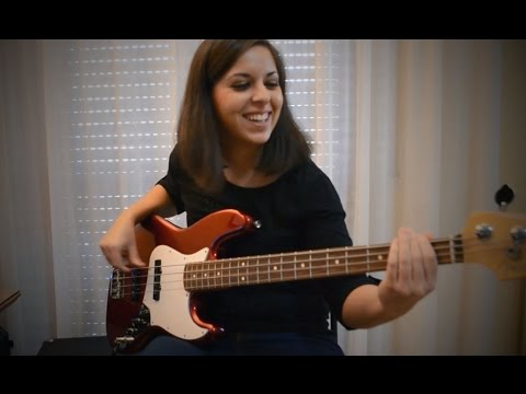Bruno Mars – 24K Magic (bass cover)