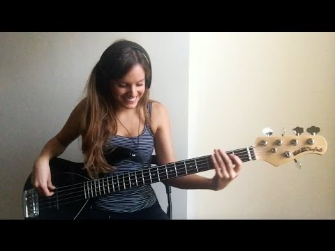 Bruno Mars – Chunky (live) [Bass Cover]