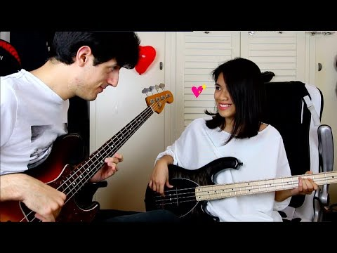 Can't Take My Eyes Off You Couple Bass Cover| 情侶雙人貝斯Cover