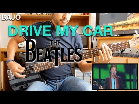Drive my Car – The Beatles Paul McCartney  Bass Cover || El Richi!