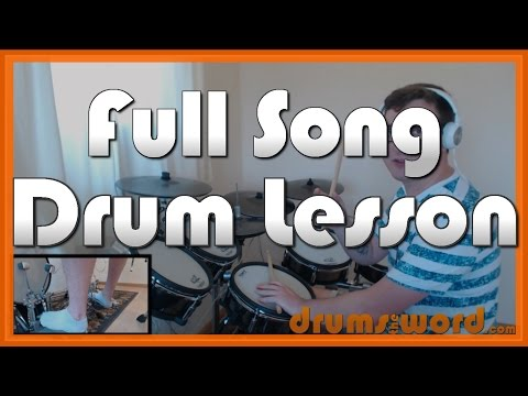 ★ Break On Through (The Doors) ★ Drum Lesson PREVIEW | How To Play Song (John Densmore)