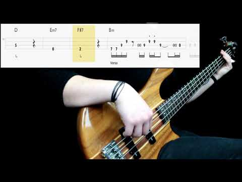 Eagles – Hotel California (Bass Cover) (Play Along Tabs In Video)