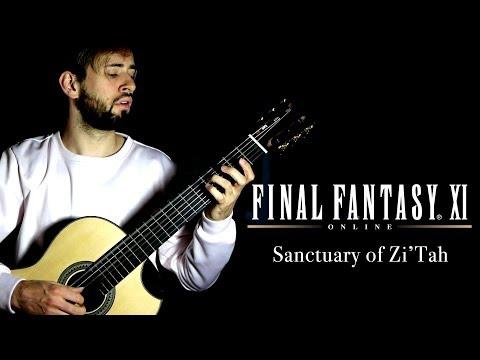 Final Fantasy XI Guitar Cover – Sanctuary of Zi'Tah – Sam Griffin