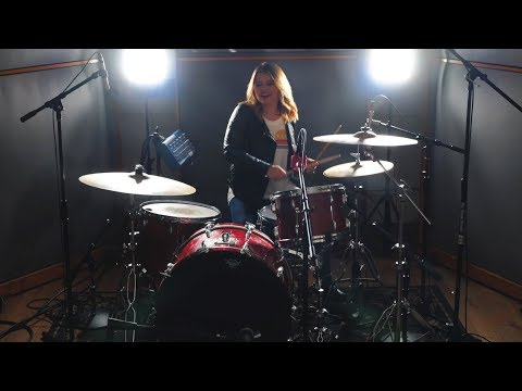 Girls Like You by Maroon 5 (ft. Cardi B) – Drum Cover – Megan Luce
