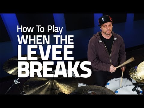 How To Play When The Levee Breaks – Drum Lesson (Drumeo)