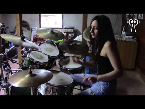 IRON MAIDEN – HALLOWED BE THY NAME – DRUM COVER by CHIARA COTUGNO