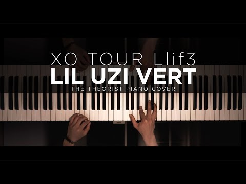 Lil Uzi Vert – XO TOUR Llif3 | The Theorist Piano Cover