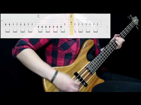 Panic! At The Disco – The Ballad Of Mona Lisa (Bass Cover) (Play Along Tabs In Video)