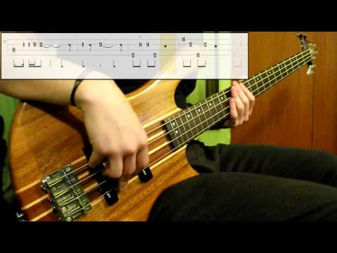 Red Hot Chili Peppers – Can't Stop (Bass Cover) (Play Along Tabs In Video)