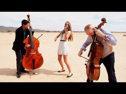 Rolling in the Deep – Adele (violin/cello/bass cover) – Simply Three