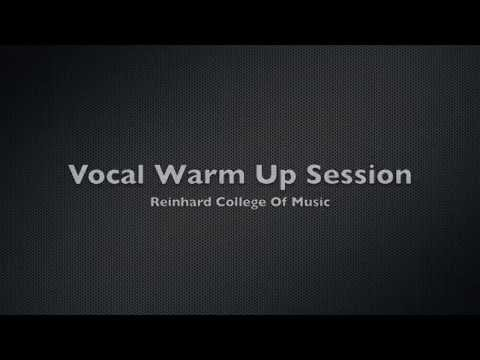 Singing Lessons – Vocal Warm Up Exercises (PART 1 of 3)