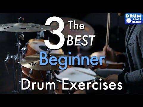 The 3 BEST Beginner Drum Exercises – Drum Lesson | Drum Beats Online