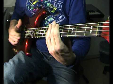 The Commodores – Brick House – Bass Cover