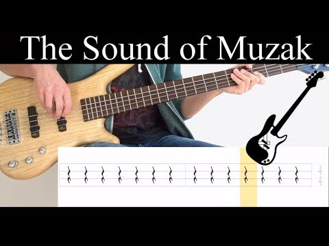 The Sound Of Muzak (Porcupine Tree) – (BASS ONLY) Bass Cover (With Tabs)