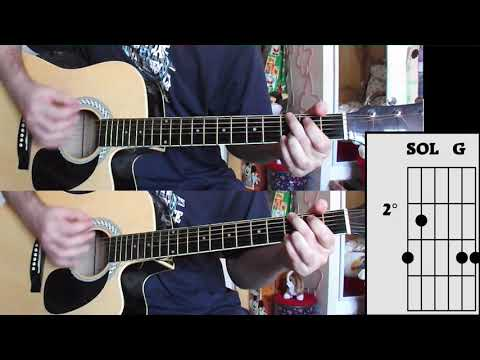 U2  – With Or Without You – Guitar Cover W/Chords