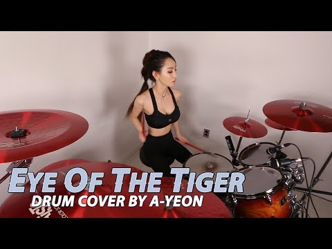 Eye Of The Tiger [Metal Ver.] Drum Cover by A-YEON