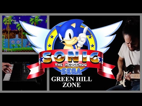 """Green Hill Zone Theme"" Guitar Cover (Sonic The Hedgehog)"